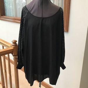Calvin Klein Plus Size Dressy Blouse